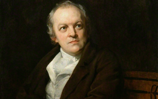 William Blake painted by Thomas Phillips